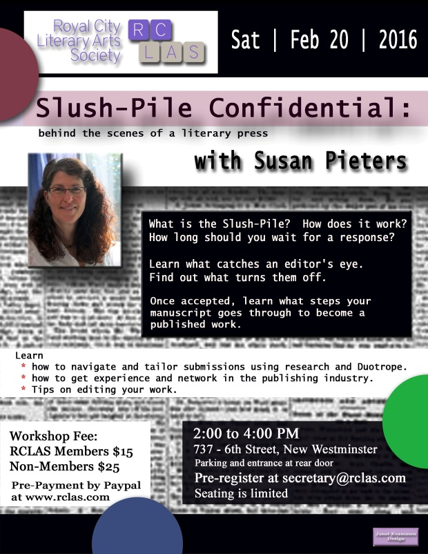 Susan Pieters Slush Pile Confidential