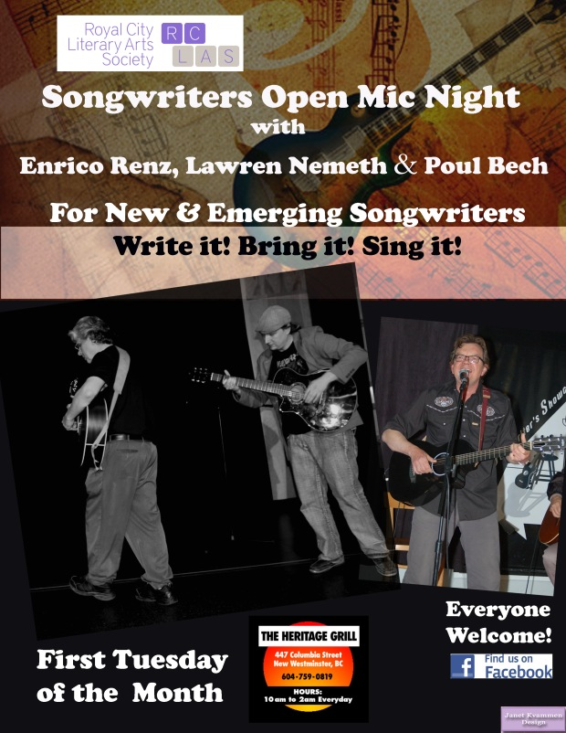 Songwriters Open Mic 2016 Heritage Grill First Tuesdays.jpg