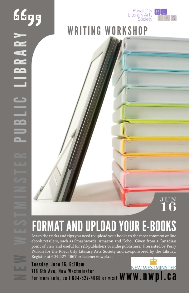 2015 Jun 16 Format and upload your eBooks