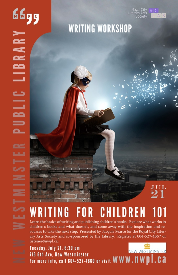 2015 Jul 21 RCLAS Writing for Children 101
