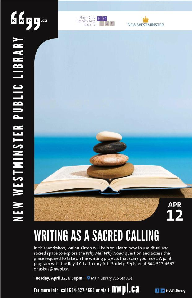 2016 Apr 12 RCLAS Writing as a Sacred-page-001