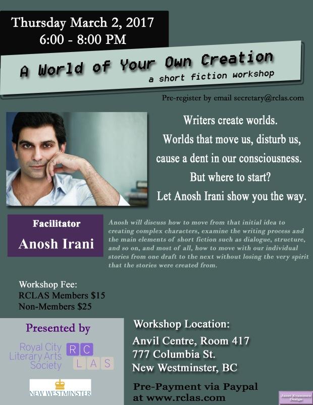Anosh Irani Workshop March 2 2017 updated.jpg