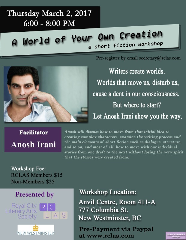 Anosh Irani Workshop March 2  2017.jpg