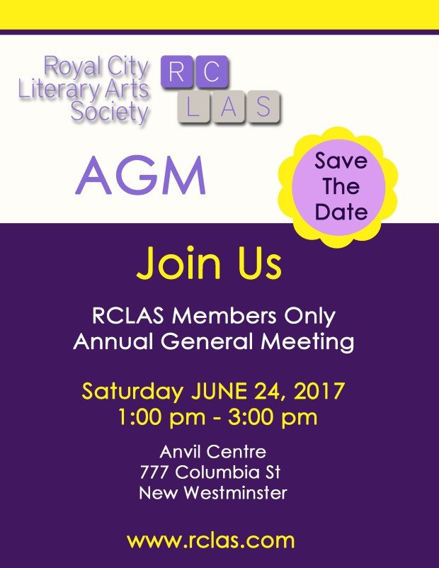 AGM 2017 June 24 Save the Date