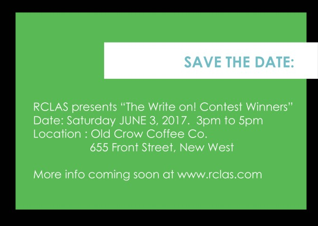 Save the Date Write on reading