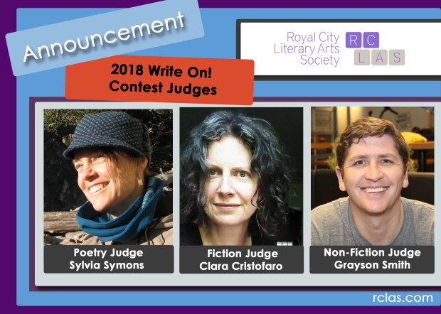 RCLAS Write On Contest 2018 Announcement