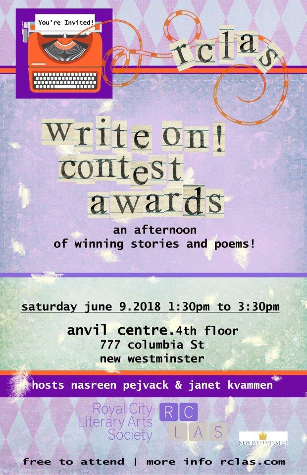 2018 WRITE ON award EVENT
