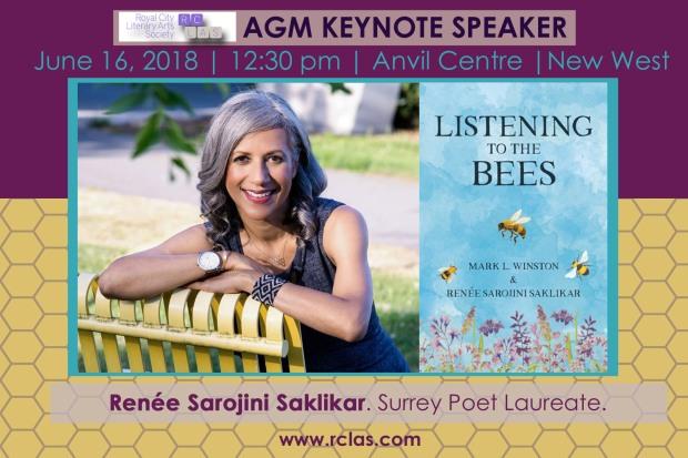 Renée Sarojini Saklikar Keynote 2018