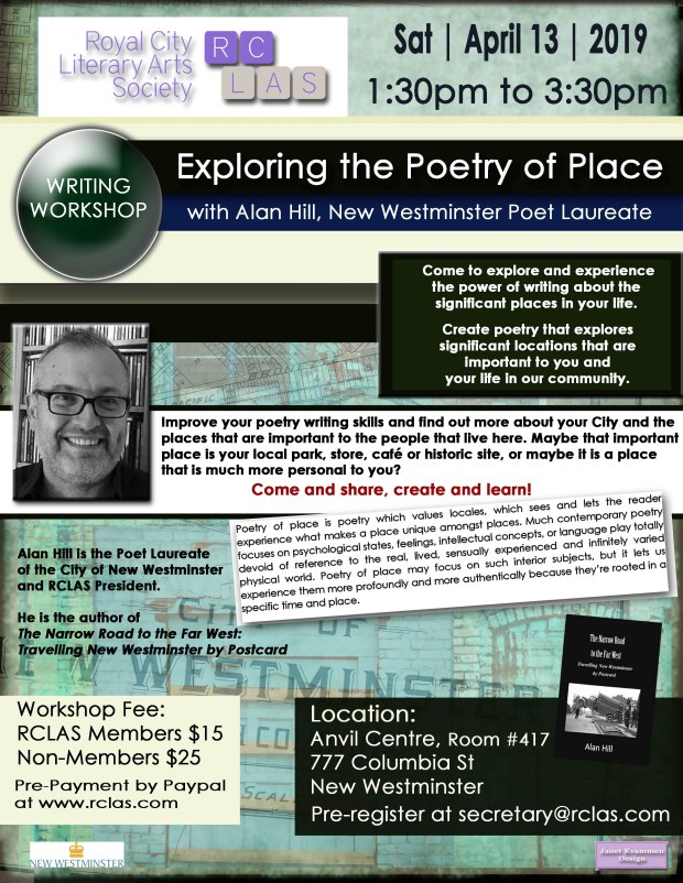 Alan Hill Place Workshop APR13 2019