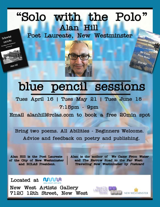 Alan Hill Blue Pencil Solo with the Polo
