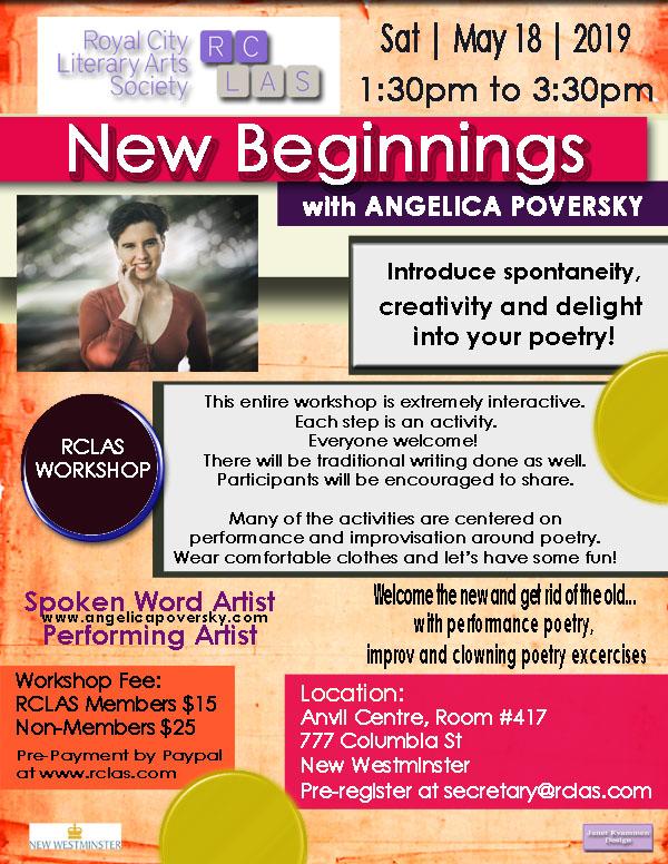 Angelica RCLAS Workshop May 18 2019