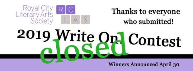 FB Banner 2019 Write on closed