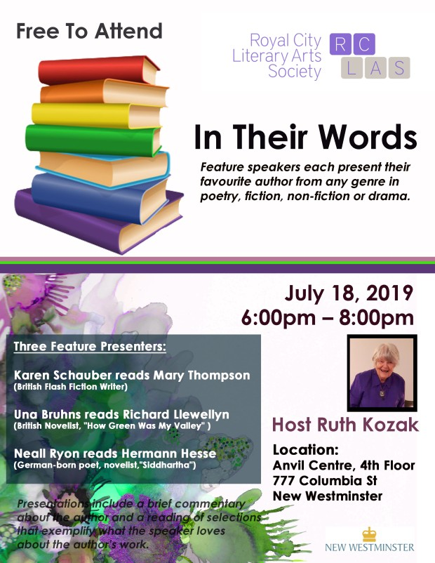 IN THEIR WORDS POSTER JULY182019