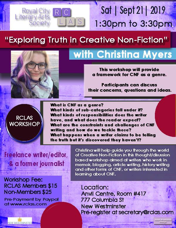 RCLAS Workshop Sept 21 Christina Myers