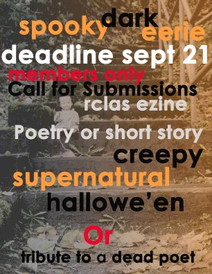 halloween call for submissions sept 21 2019
