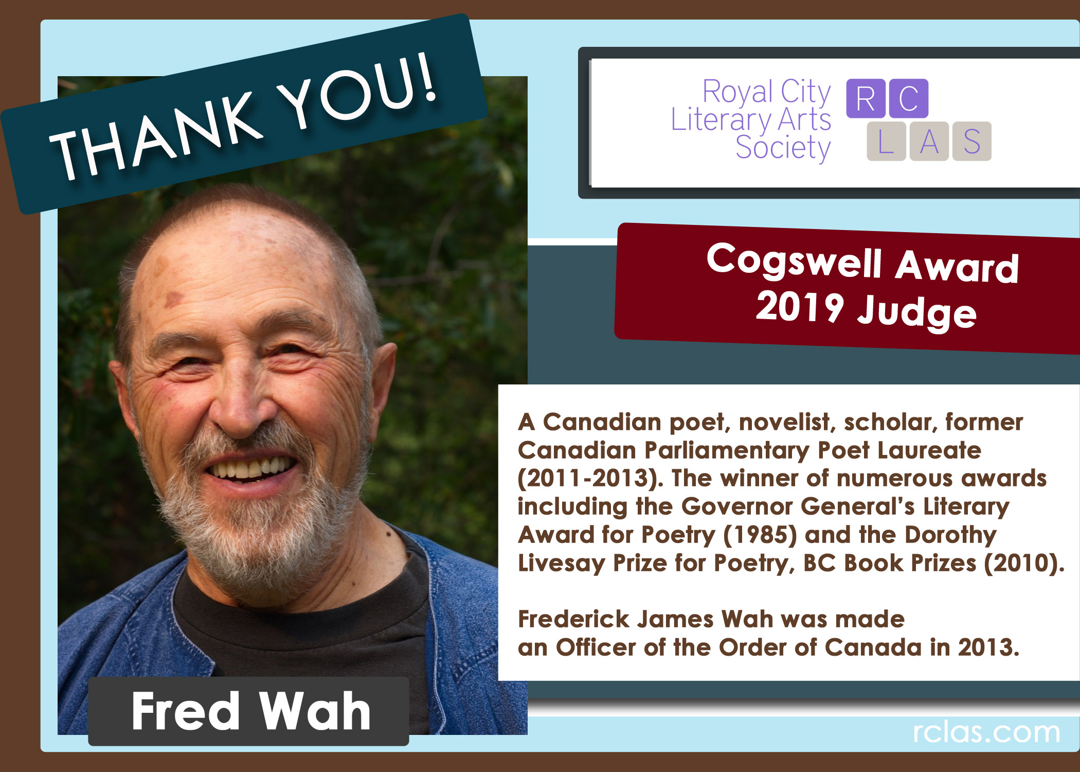 RCLAS Cogswell Judge Thank you 2019 Fred WAH