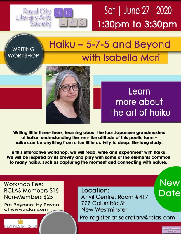 Isabella Mori Haiku WorkshopJune 27 2020