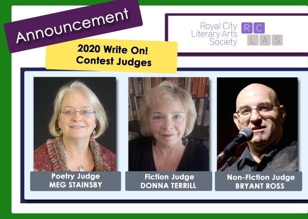 RCLAS Write On Contest 2020 Judge Announcement