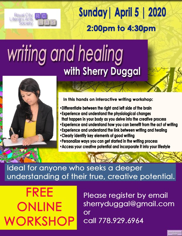 Sherry Duggal Online Workshop April 5 2020